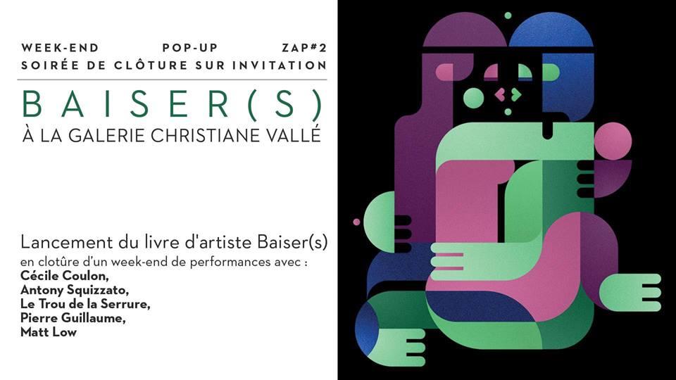 Carton d'invitation Christiane Vallé
